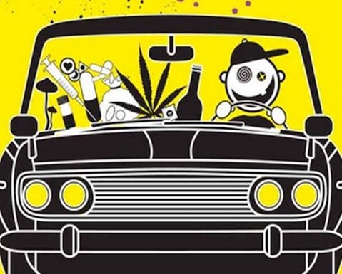 drogas al volante