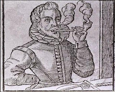 Los orígenes del tabaquismo
