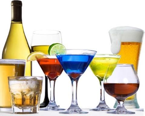 el consumo del alcohol