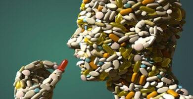 hombre de pastillas